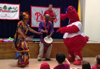 Philly Phanatic African Dancing